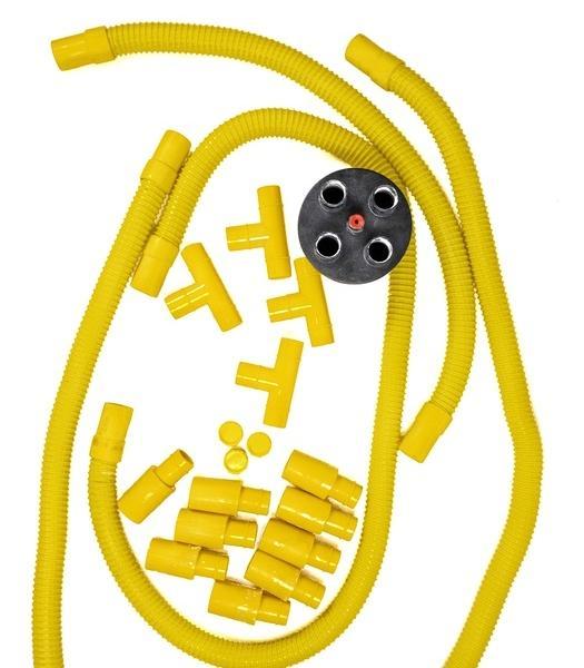 Sprężarka bocznokanałowa VE4 MultiQube akcesoria